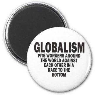 Globalism Refrigerator Magnet