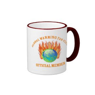 Globalwarmingfan Ringer Mug