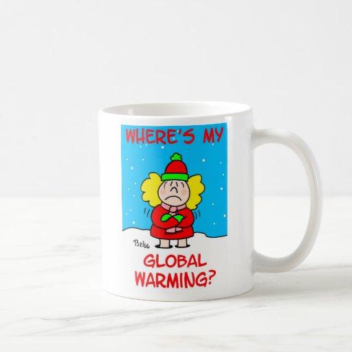 globalwarmingmug classic white coffee mug
