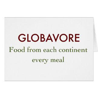 Globavore Card