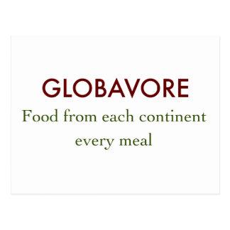 Globavore Postcard