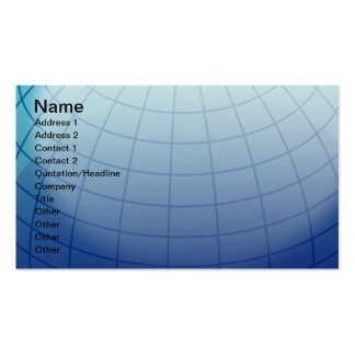 Globe_1_Vector_Clipart Double-Sided Standard Business Cards (Pack Of 100)