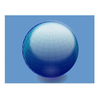 Globe_1_Vector_Clipart Postcard