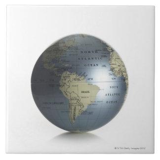 Globe 3 tile