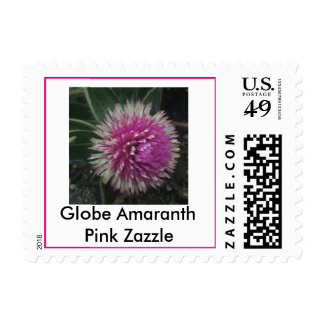 Globe Amaranth Pink Dazzle First Class Stamps