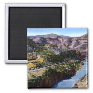 Globe Arizona Salt River Canyon Fridge Magnet