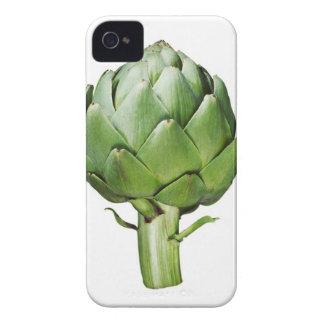 Globe Artichoke on White Background Cut Out iPhone 4 Case-Mate Case
