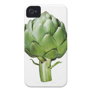 Globe Artichoke on White Background Cut Out iPhone 4 Cover
