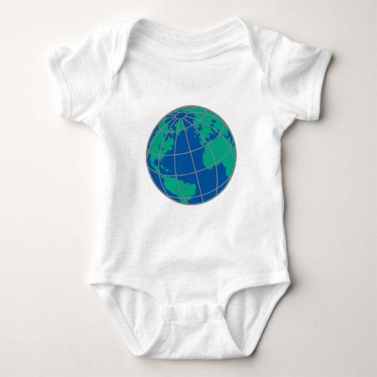 Globe Baby Bodysuit