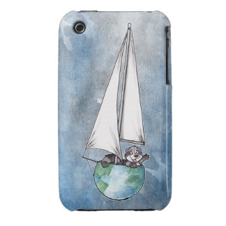 Globe Boat Logo Case-Mate iPhone 3 Cases