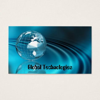 Globe Business Card