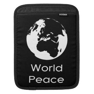 Globe by Leslie Peppers iPad Sleeve