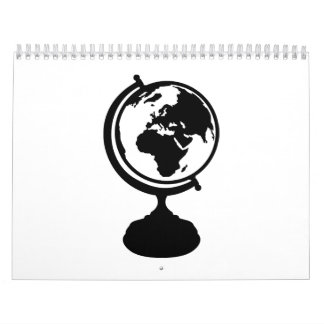 Globe Earth Calendar