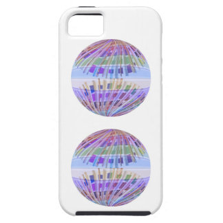GLOBE Earth :  Holy Purple Light Show iPhone SE/5/5s Case