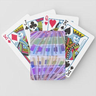 GLOBE Earth :  Holy Purple Light Show Poker Cards