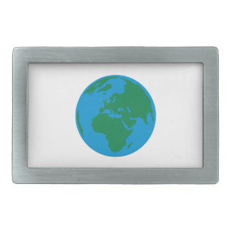 Globe Earth World Belt Buckle