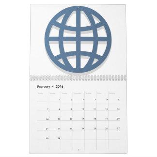 Globe - Emoji Calendar