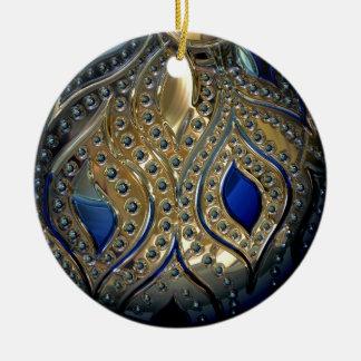 Globe imitation ceramic ornament