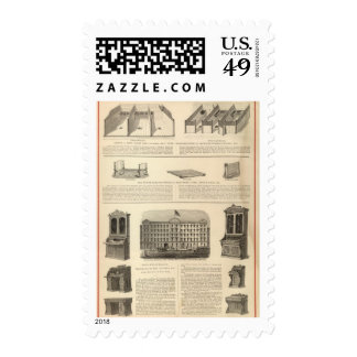 Globe Iron Foundry Woven Wire Mattress Company Postage