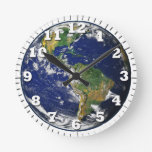 globe is our earth clock