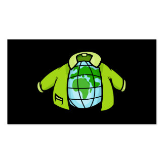 Globe Jacket Double-Sided Standard Business Cards (Pack Of 100)