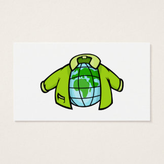 Globe Jacket Business Card