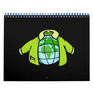Globe Jacket Calendar