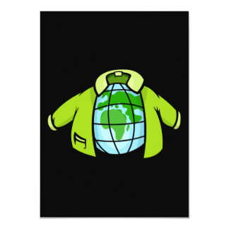 Globe Jacket Card