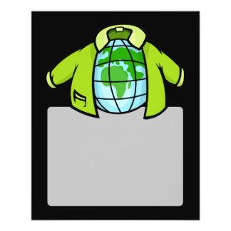 """Globe Jacket 4.5"""" X 5.6"""" Flyer"""