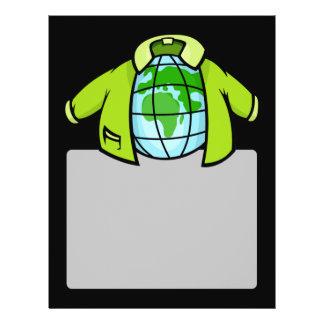 """Globe Jacket 8.5"""" X 11"""" Flyer"""