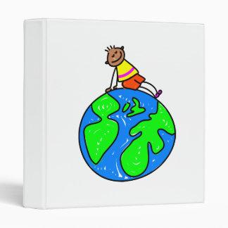 Globe Kid 3 Ring Binder