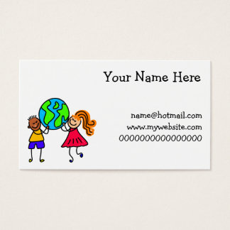 Globe Kids Business Card