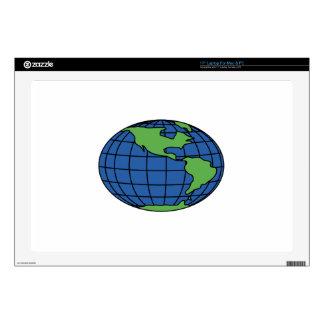 Globe Laptop Skin