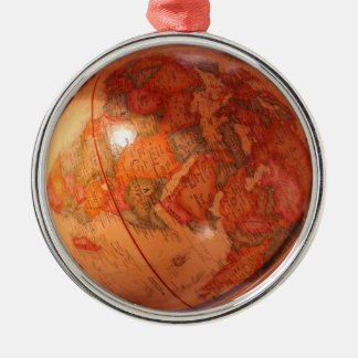 Globe Metal Ornament