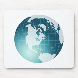Globe Mouse Pad