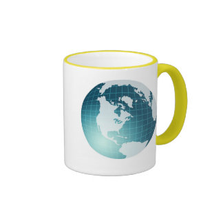 Globe Ringer Coffee Mug
