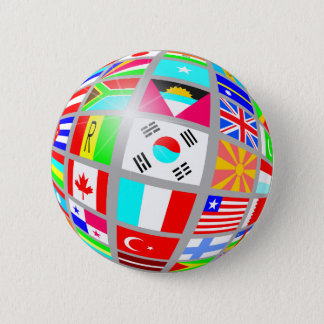 Globe of Flags Button