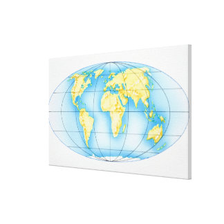 Globe of the World Canvas Print