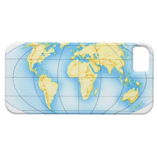 Globe of the World iPhone SE/5/5s Case