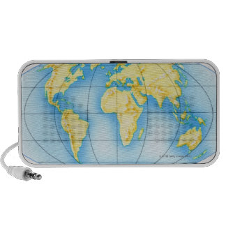 Globe of the World Travelling Speakers
