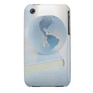 Globe on a book iPhone 3 Case-Mate cases