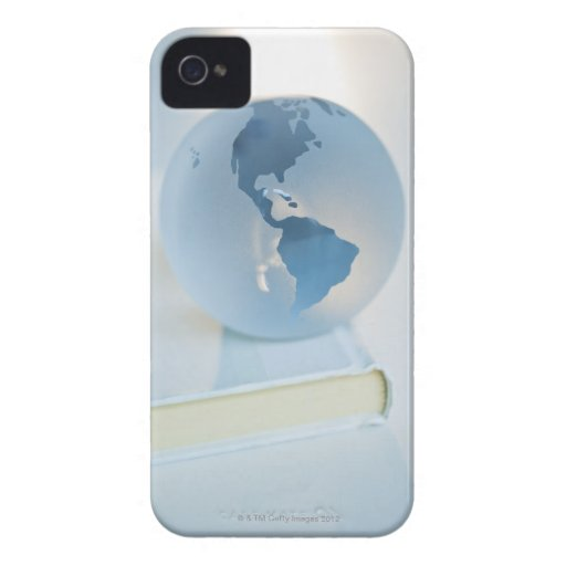 Globe on a book iPhone 4 cases