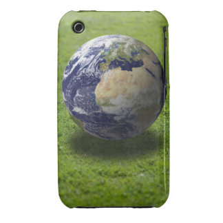 Globe on lawn 2 Case-Mate iPhone 3 cases