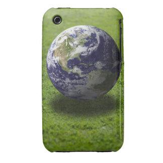 Globe on lawn 3 Case-Mate iPhone 3 case