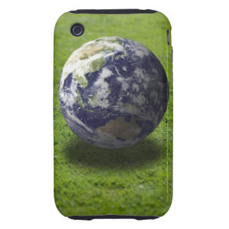 Globe on lawn tough iPhone 3 cover