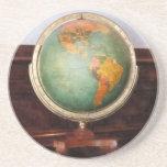 Globe on Piano Coaster