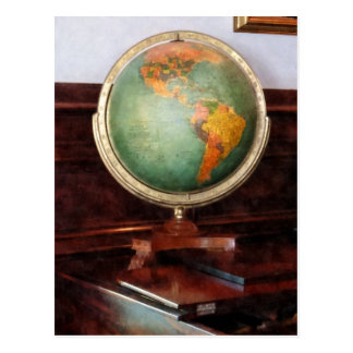 Globe on Piano Post Cards
