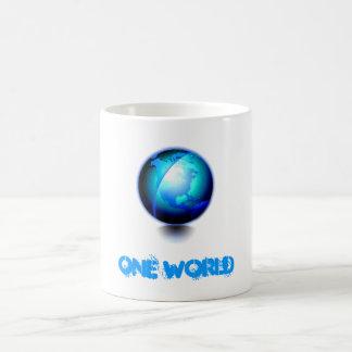 Globe, ONE WORLD Coffee Mug