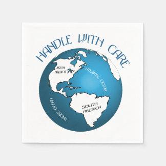 Globe Paper Napkin