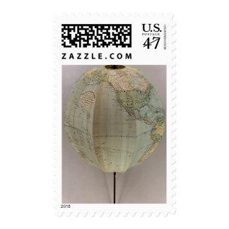 Globe Postage Stamp